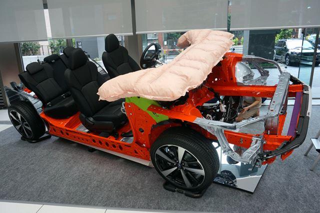 ボディ自体も衝撃エネルギー吸収量が従来比1.4倍に高められている