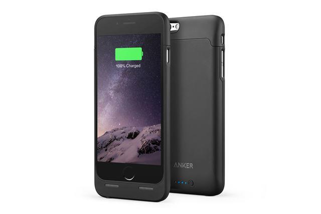 iPhoneユーザーなら、iPhoneケースにバッテリーを内蔵したバッテリーケースを選択するというのもアリだ