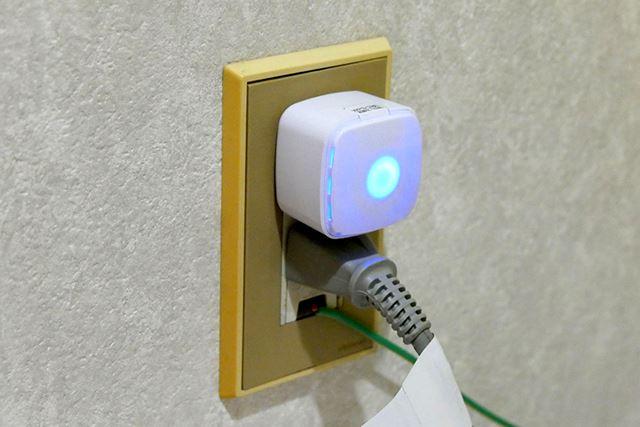 お風呂場付近のコンセントに直挿してWi-Fiを増強