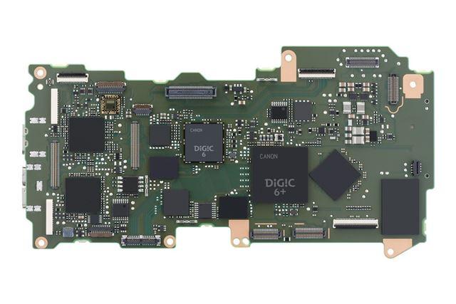 EOS 5D Mark IVのメインボード