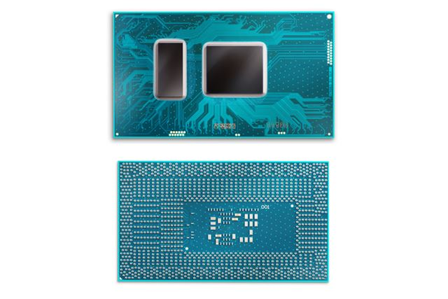 TDP15WのUプロセッサーのパッケージ