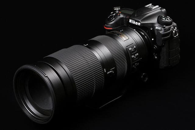 AF-S NIKKOR 200-500mm f/5.6E ED VR(ボディはD500)