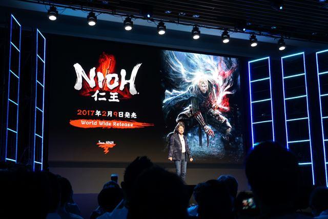 「仁王」は2017年2月9日に全世界一斉発売となる