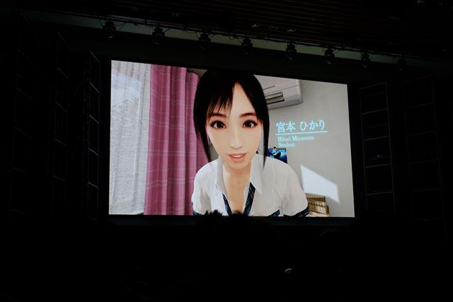PS VRのローンチタイトルのひとつ「サマーレッスン 宮本ひかり セブンデイズルーム(基本ゲームパック)」
