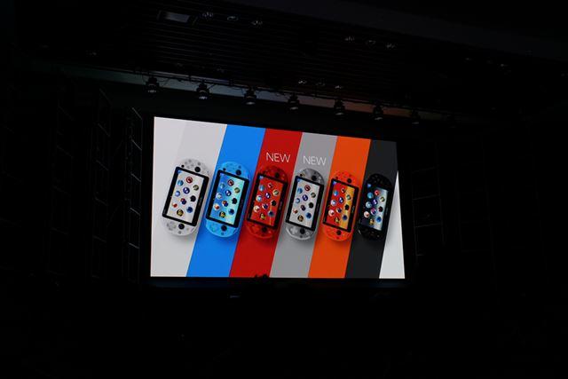 全6色展開となったPS Vita Wi-Fiモテル