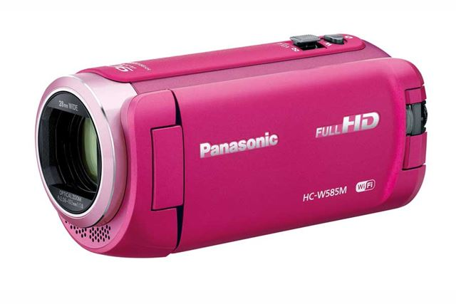 パナソニック「HC-W585M」(ピンク)