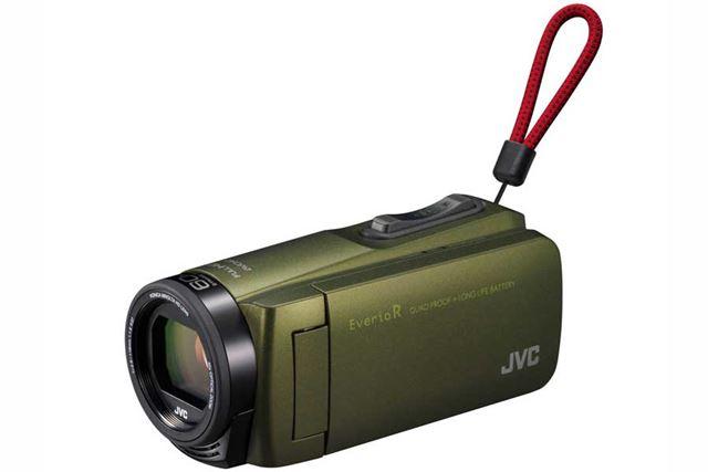 JVC「Everio R GZ-R470」(カーキ)
