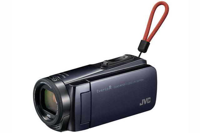 JVC「Everio R GZ-R470」(アイスグレー)