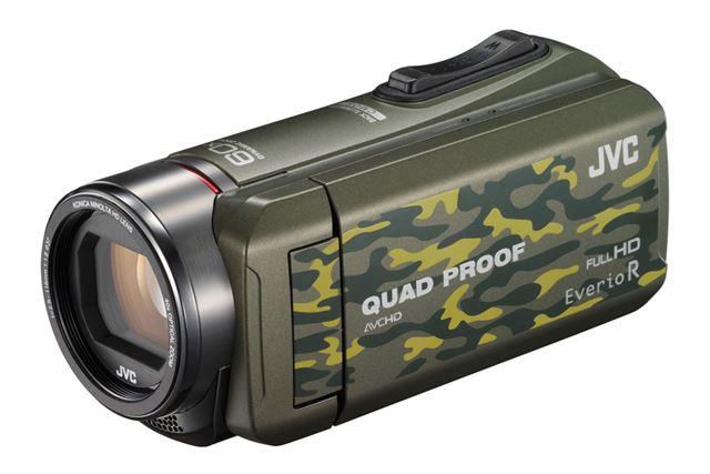 アウトドアシーンでの動画撮影なら、防水性能・防塵性能を備えたタフネス仕様のビデオカメラが便利