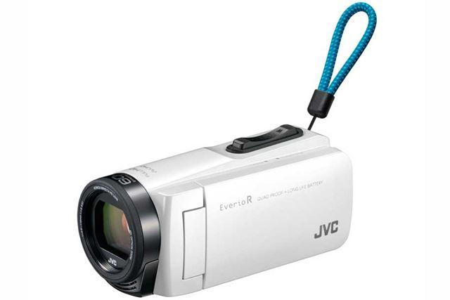 JVC「Everio R GZ-R470」(シャインホワイト)