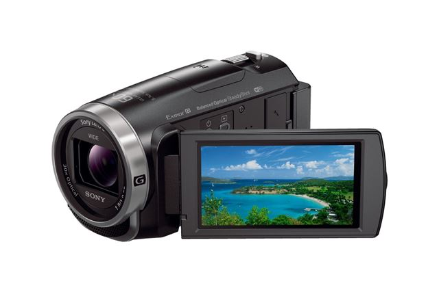 ソニー「HDR-CX675」(ブラック)