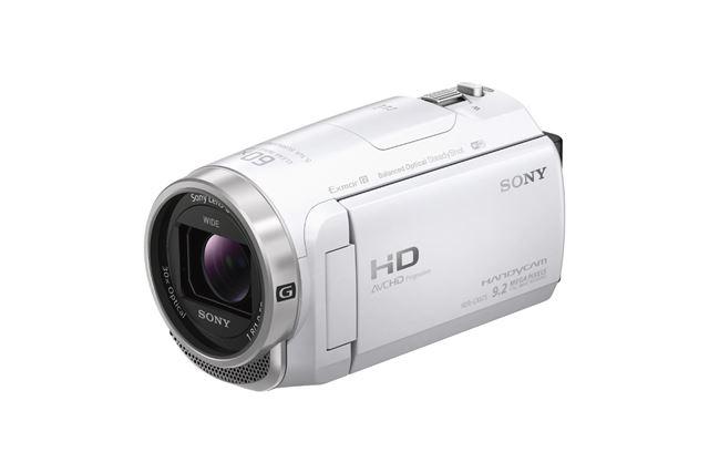ソニー「HDR-CX675」(ホワイト)