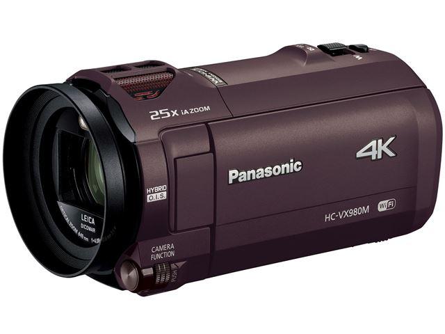 パナソニック「HC-VX980M」(ブラウン)