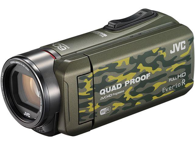 JVC「Everio R GZ-RX600」(カモフラージュ)