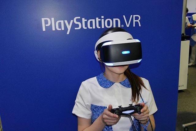 PS VRが10月13日に発売されると、このような姿でのゲームプレイが常識になるのかも