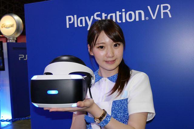 大人気のPS VR体験ブース