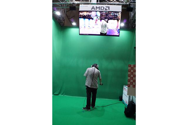 VRアイドルプロジェクト「Hop Step Sing!」のHTC Viveバージョンを体験