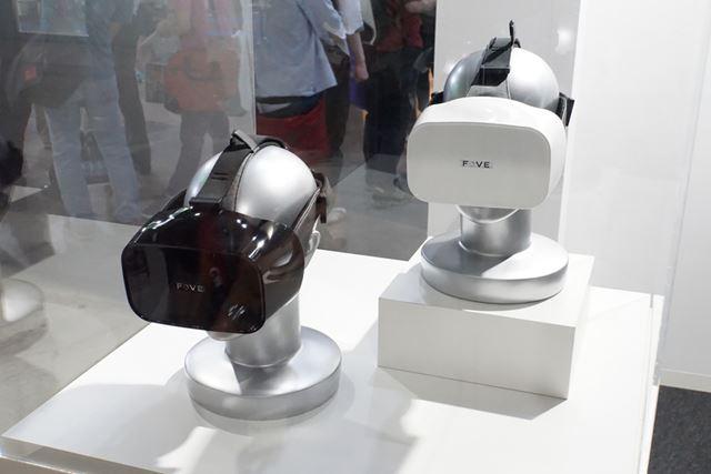 眼の瞬きを判断する独自の技術を搭載した新型VRヘッドセット「FOVE」