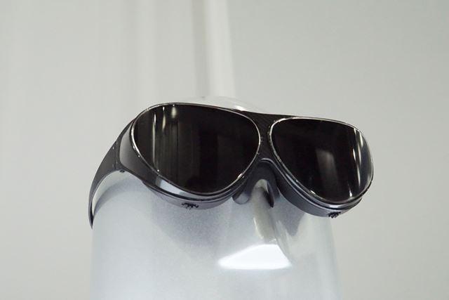 見た目はまるでサングラス
