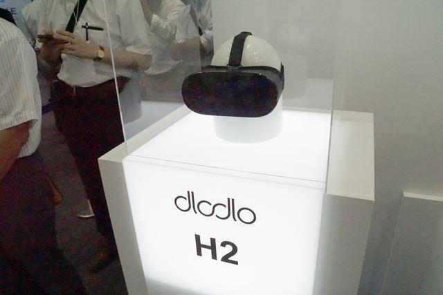 Androidスマートフォンを装着して使うDlodlo H2