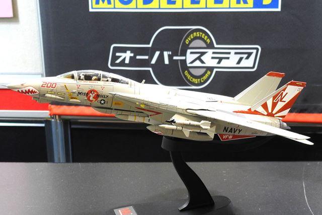 「1/72 F-14A トムキャット第111戦闘飛行隊 サンダウナーズ 5213」10月発売予定。価格は13,824円