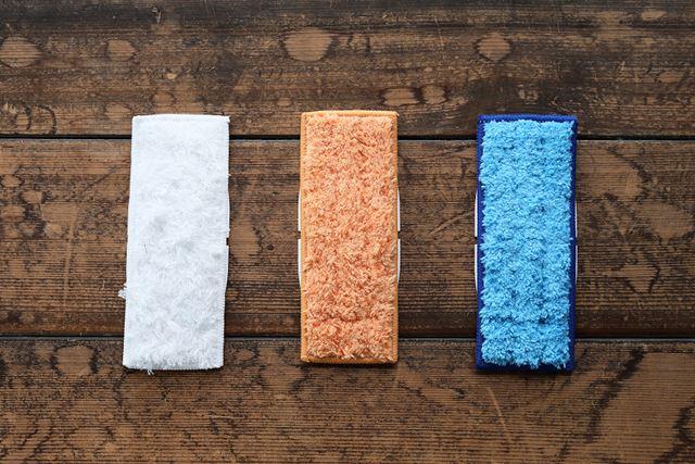 ・クリーニングパッド洗濯が可能なクリーニングパッド。色の用途は使い捨てパッドと同じ