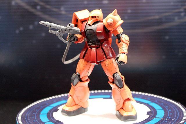 「HG MS-05S シャア専用ザクI」は12月発売予定。価格は、税込1,836円