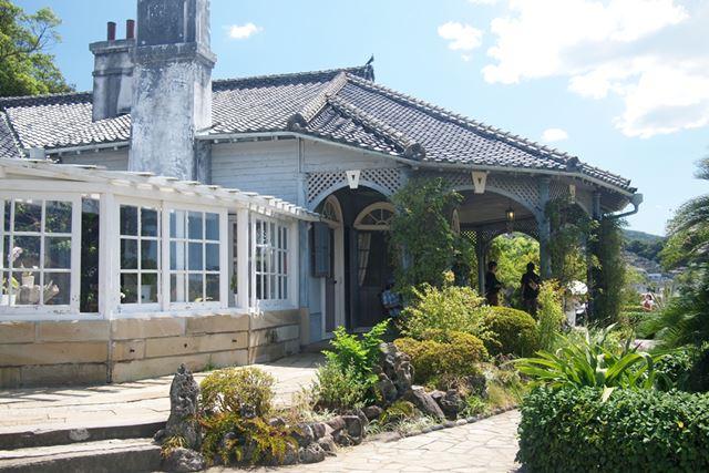 長崎を代表する観光地、グラバー園。古くから、長崎は海外との窓口として、重要な役割を担っています