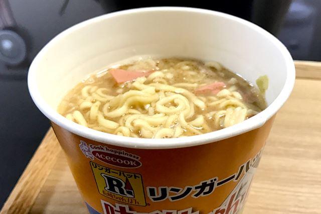濃厚な味噌スープが特徴ですが、これはちゃんぽんというより……
