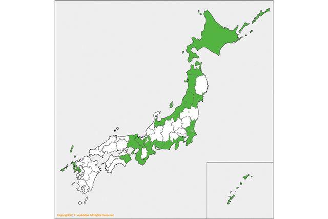 連載21回目は、初の九州上陸! もうすぐ、全国の半分を制覇しそうです