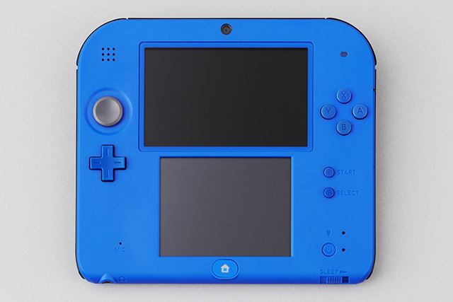 2DS button placement is centered