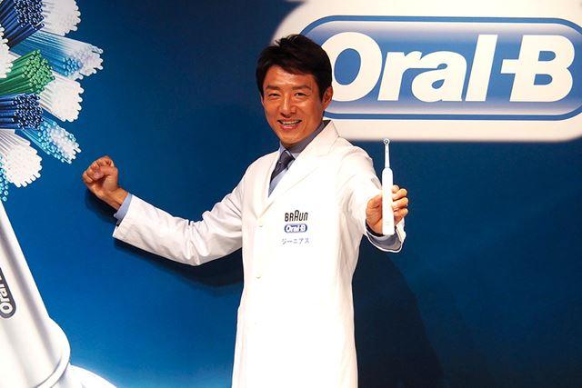 新製品のアンバサダーとして松岡修造氏がが登場