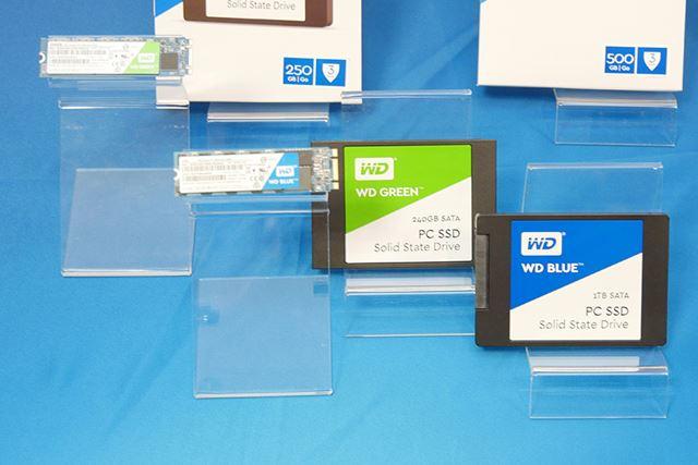 Western Digital「WD Blue SSD」「WD Green SSD」