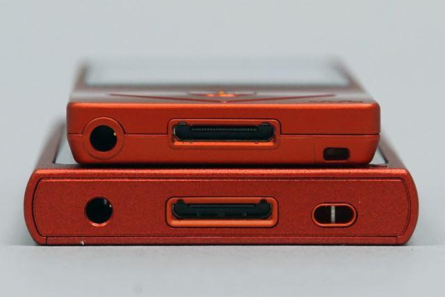 PCとの接続用インターフェイスは、ウォークマンではおなじみのWMポートだ