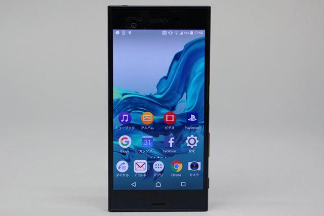 液晶には「トリルミナス ディスプレイ for mobile」を採用。Xperiaシリーズらしい透明感の高い画質だ