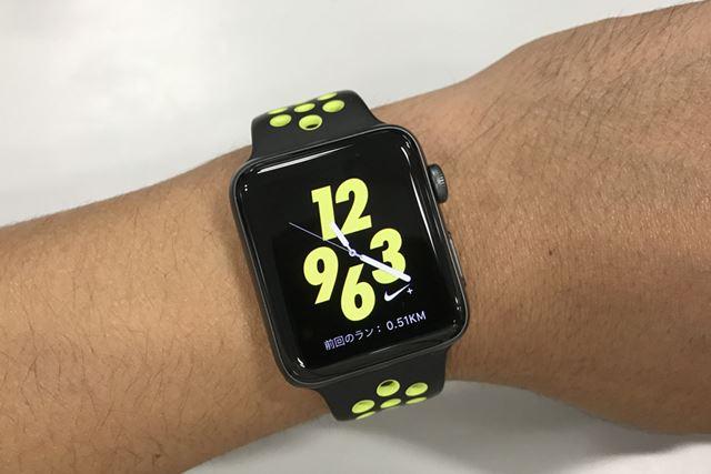 Nike+Analog。こちらにもNike+Run Clubのアイコンが用意されている