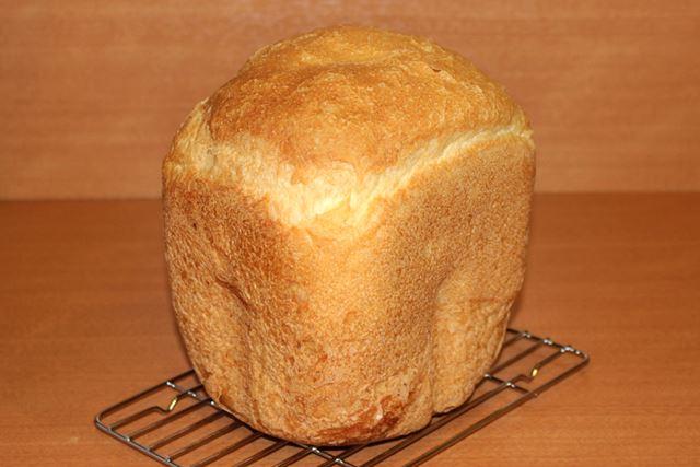 薄力粉パンを取り出してみました。かなりいい感じです!