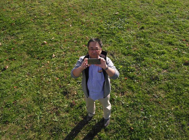 実際に飛ばしているDOBBYで撮影した写真。解像度も高く、発色もいい感じだ