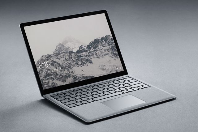 OSに「Windows 10 S」を採用する「Surface Laptop」