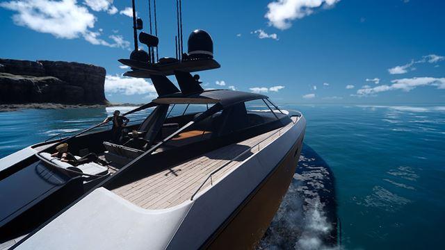 海を渡る際には、船で移動することもできる。空を飛ぶのとはまた違った、旅の情緒が味わえるだろう