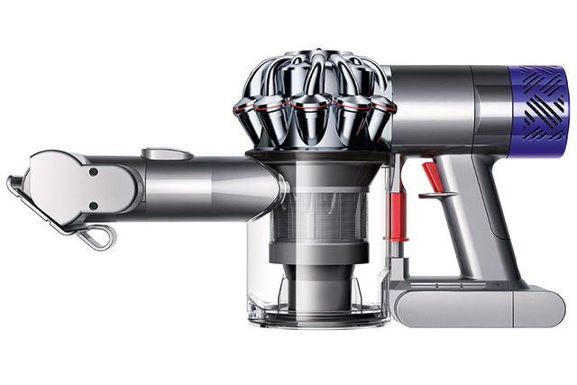 強力な吸引力を持つ「Dyson V6」に、狭いクルマの掃除に便利なノズルを組み合わせた製品パッケージ