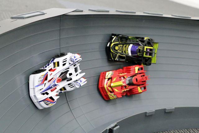 ゲキドライヴのレースはフリーレーンで行われるため、爽快な走りが楽しめるサイズ感でもあるという