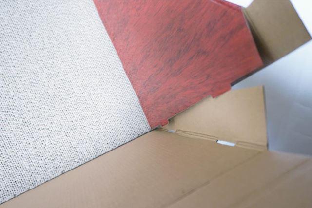 側壁や床部分を組み立てていきます