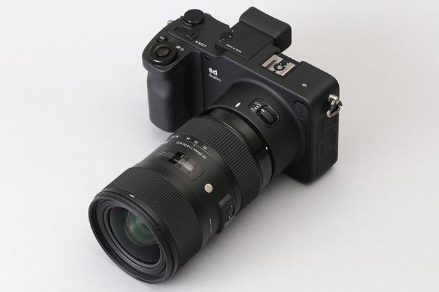 sd Quattro(レンズは18-35mm F1.8 DC HSM)