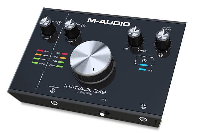 M-AUDIO「M-TRACK 2X2」