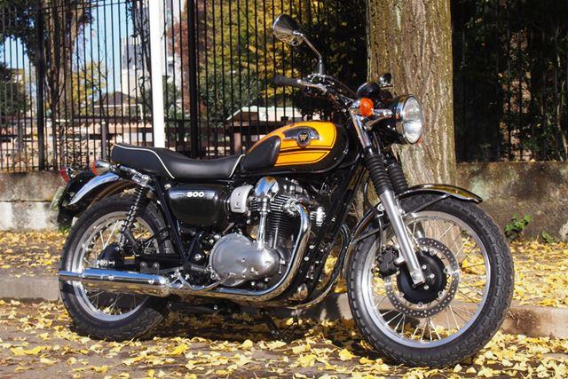 多くの人がイメージするオーソドックスなバイクを具現化したようなデザインは、どんな風景にもマッチしそう