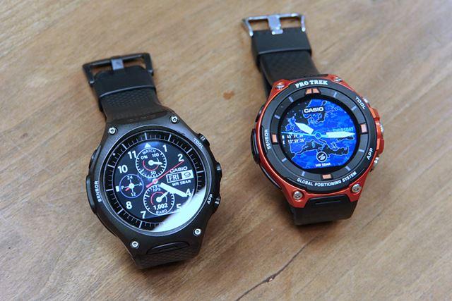左が前モデルのWSD-F10、右が新モデルのESD-F20