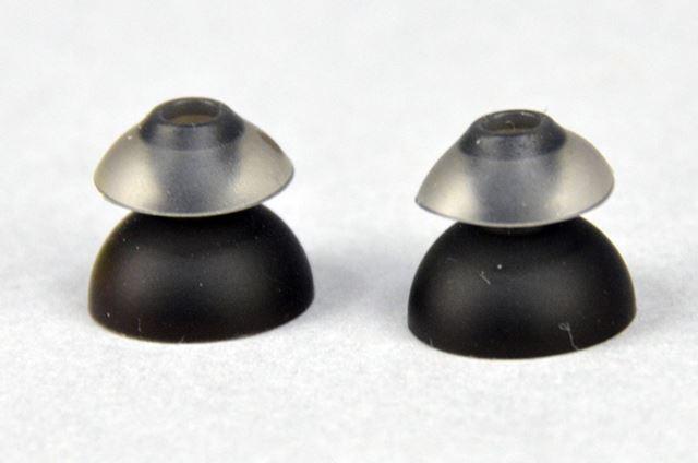 独自の2層構造を採用するSpinFit TwinBladeイヤーチップ。今後、単体販売も予定しているとのこと
