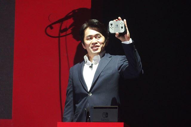Nintendo Switch総合プロデューサーの小泉歓晃氏
