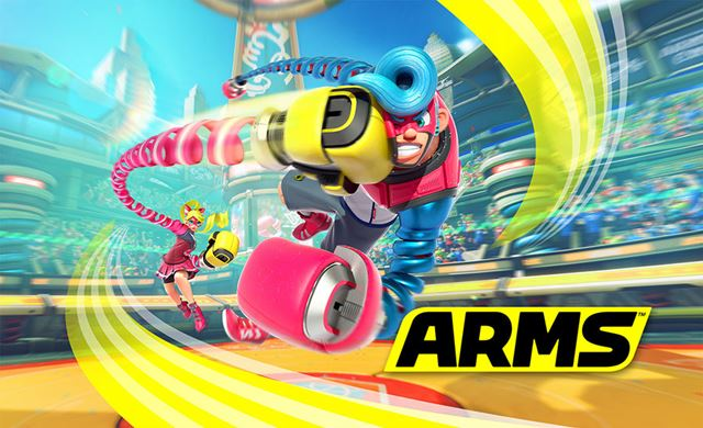 「ARMS」は2017年春発売の予定。価格は未定